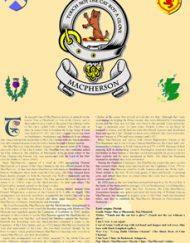 Clan Badge & History Unframed